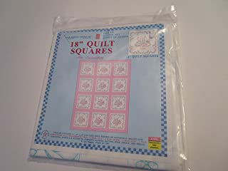"18"" Quilt Squares for Embroidery ... Kit contains Six 18"" x 18"" [cut size] quilt squares ... Great for Wall Hanging"