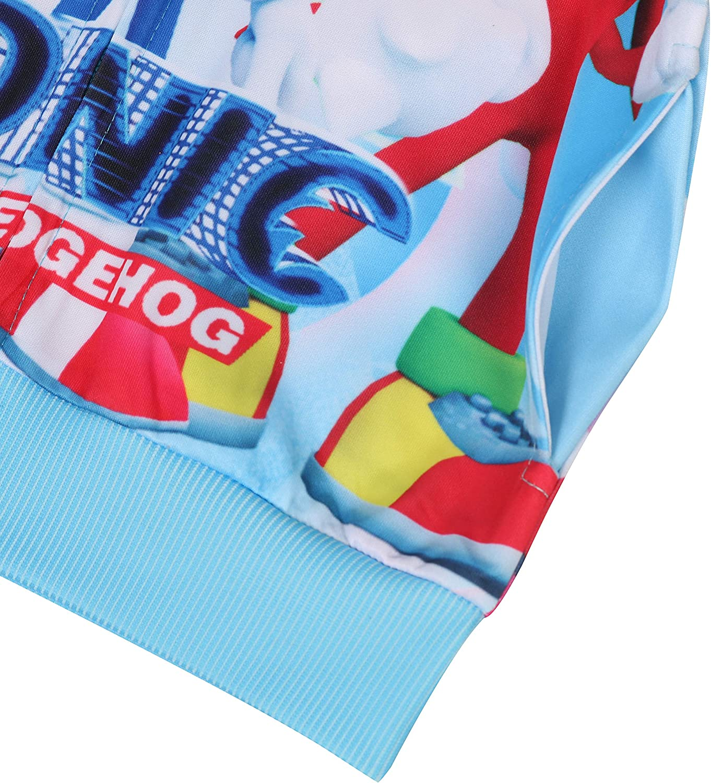 Toddler Boys Zip Up Hoodie Jacket Full Zipper Sweatshirt for 3-8 Years Kids
