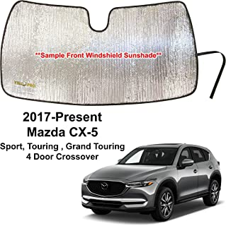 YelloPro Custom Fit Automotive Reflective Front Windshield Sunshade Accessories UV Reflector Sun Protection for 2017 2018 ...