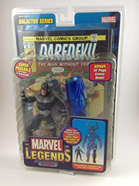 "Toy Biz World Wide Marvel Legends: Galactus Series - Bullseye 6"" Action Figure"