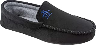 Mens Slippers, Microsuede Venetian Moccasin Slipper,Men's Size 8 to 13