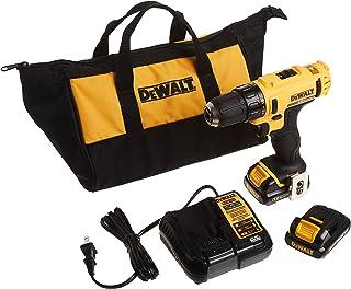 DEWALT 12V MAX Cordless Drill / Driver Kit, 3/8-Inch (DCD710S2)