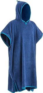 comprar comparacion Yello Towel Poncho, Unisex Adulto, Azul, Talla única