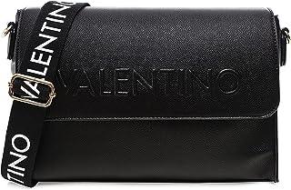 Valentino Bags Damen prunas Logo-Tasche Schwarz Ein Größe