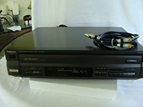Technics SL-PD807 MASH 5 Disc CD Player with Cables