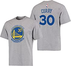 Stephen Curry Golden State Warriors #30 Adidas Gray Name And Number Kids T Shirt