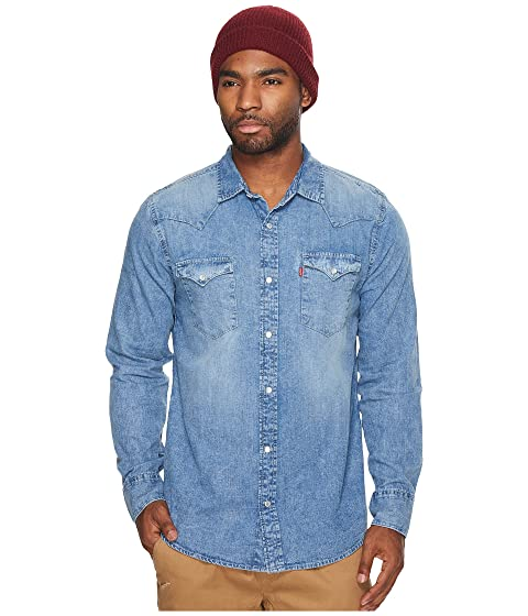 37240b12 Levi's® Standard Barstow Western Shirt at Zappos.com