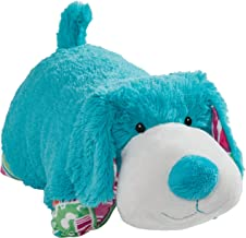 """Pillow Pets Colorful Teal Puppy - 18"""" Stuffed Animal Plush Toy"""