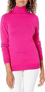 Amazon Essentials Women's Lightweight Turtleneck Sweater