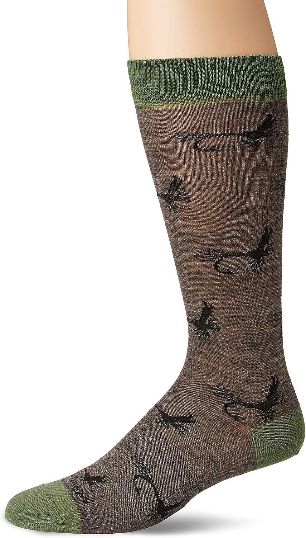 Darn Tough McFly Crew Light Sock - Men's Taupe Large
