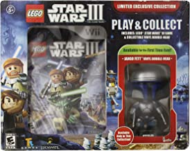 Wii LEGO Star Wars III: The Clone Wars with JANGO FETT LIMITED EXCLUSIVE COLLECTION