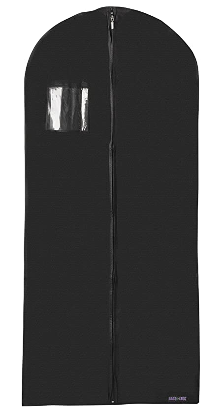 Bags for Less New Breathable 54 inch Suit and Dress Black Garment Bag