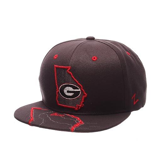 2846a030b2a Zephyr NCAA Georgia Bulldogs Men s Stateline Snapback Cap