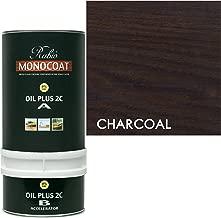 Rubio Monocoat Zero VOC 2 Component Oil Finish, Charcoal, 350ML