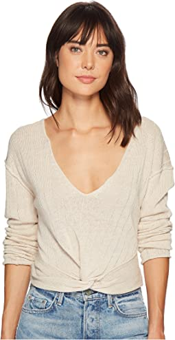 Free People - Got Me Twisted Sweater