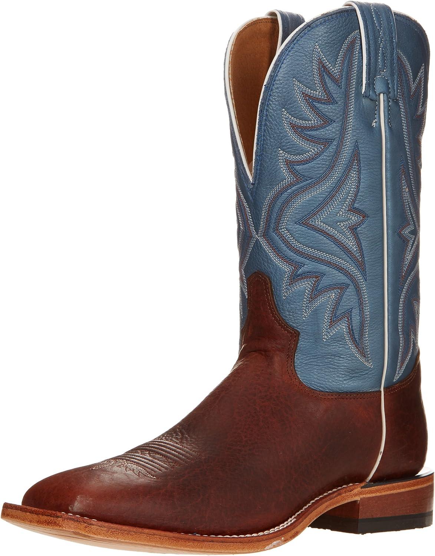 Tony Lama Boots Men's Bison 7955 Western Boot