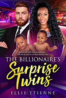The Billionaire's Surprise Twins: BWWM Romance (Zari And East Book 1)