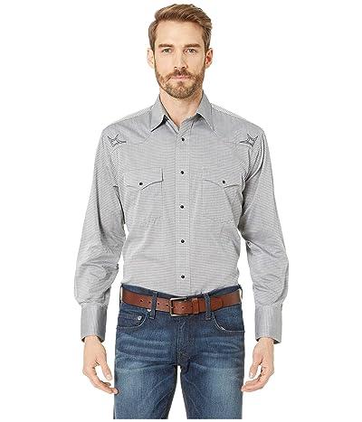 Wrangler Silver Edition Snap Shirt (Grey) Men