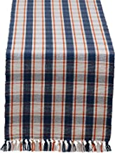 DII Plaid Tabletoppers Fall Patterned Kitchen Linens, 14x108 Table Runner, Autumn Farmhouse