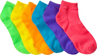 Baby Girls' Low-Cut Socks (Pack of Six)