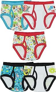 Little Boys' SpongeBob Brief (Pack of 5)