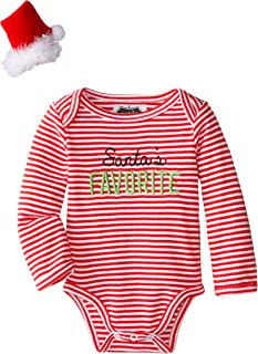 Mud Pie Baby Girls' Seasonal One Piece Crawler Bodysuit Set