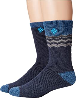 Columbia - 2-Pack Chevron Wool Crew