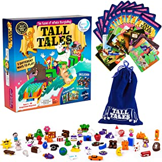 SCS Direct Tall Tales Story Telling Board Game - The Family Game of Infinite Storytelling - 5 Ways to Play