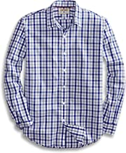 Goodthreads Men's Standard-Fit Long-Sleeve Gingham Plaid Poplin Shirt