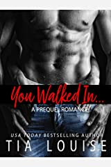 You Walked In: An opposites-attract, sports-romance novella Kindle Edition