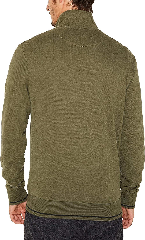 Esprit Sweat-Shirt Homme Vert (Dark Khaki 355)