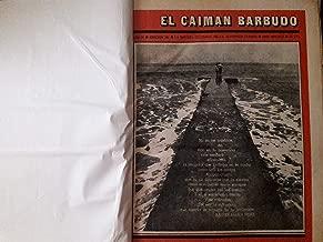El caiman barbudo revista cultural de la juventud cubana numeros 244,245,246,248,249.253,254,256,258,259,261,262,263,264,265,266,270,271,272,en total 19 numeros encuadernados,habana cuba 1988-89.