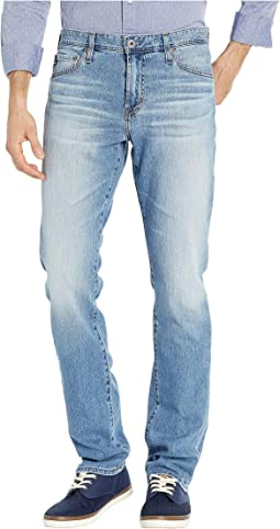 Everett Slim Straight Leg Denim Jeans in Falling Star
