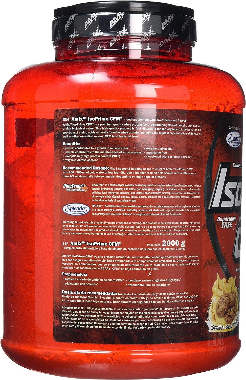 Amix Isoprime Cfm Isolate Fresa 2000 g