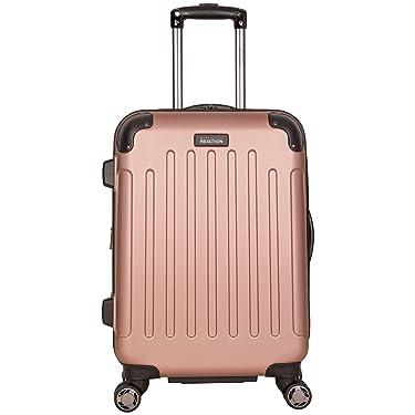 "Kenneth Cole - Juego de maletas para equipaje Reaction Renegade de 16"" lateral rígido con 4 ruedas, palanca deslizable, Rose gold), 5707202RG"
