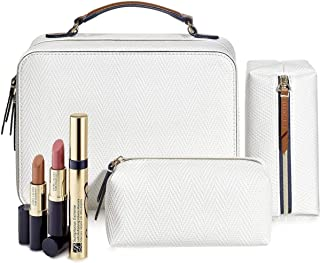 Estee Lauder 6 PC Beauty Set Sumptuous Extreme Mascara, Pure Color Envy Sculpting Lipsticks in Rebellious Rose and Tiger Eye