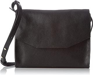 Unisex Adults' Treen Island Top-Handle Bag, Black (Black Leather), 7 x 18 x 23 cm (Wxhxd)