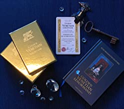 Golden Venetian Lenorman Oracle Divination Cards, Unique Illustrated Occult Deck for Cards Reading Inspired by History of Venetian Carnival