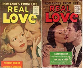 Real Love. Issues 71 and 74. Romances from Life. Includes Slightly scandalous, Backstreet wife, lovely liar and paid for d...