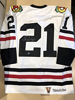 AJ Sports World Stan Mikita Chicago Blackhawks Autographed White Mitchell and Ness Hockey Jersey