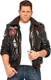 Leg Avenue Men's Licensed Top Gun Bomber Jacket