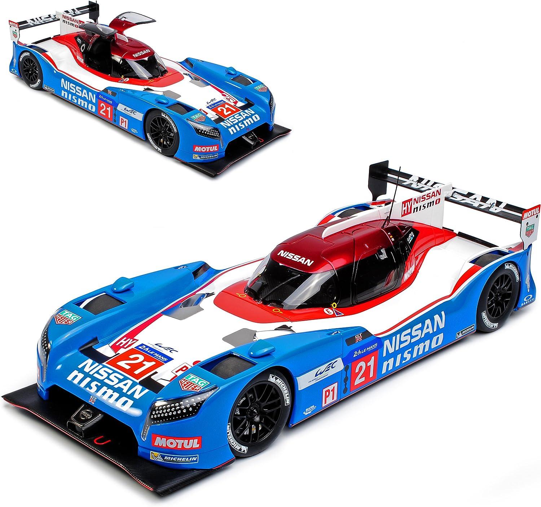 AUTOart Nissan GT-R Nismo 24H Le Mans 2015 Nr 21 Matsuda Shulzhitskiy Ordonez 81579 1 18 Modell Auto mit individiuellem Wunschkennzeichen