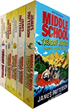 Middle School Treasure Hunters Series Collection 5 Books Set by James Patterson
