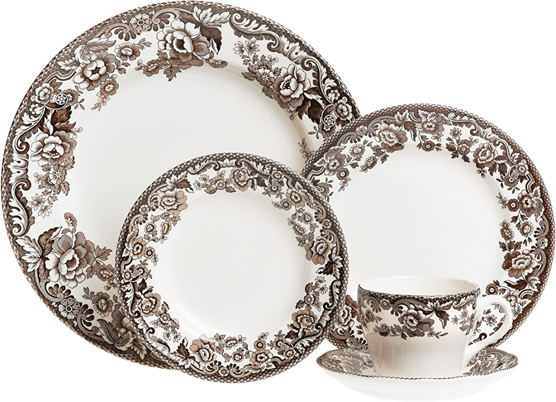 Spode Delamere 5 Piece Place Setting Service For 1