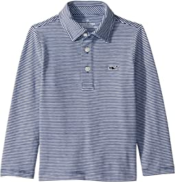 Long Sleeve Edgartown Color to White Stripe (Toddler/Little Kids/Big Kids)