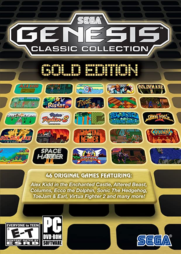 注入する満州不機嫌そうなSega Genesis Collection - Gold Edition (輸入版)