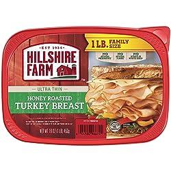Hillshire Farm Ultra Thin Sliced Lunchmeat, Honey Roasted Turkey Breast, 16 oz.