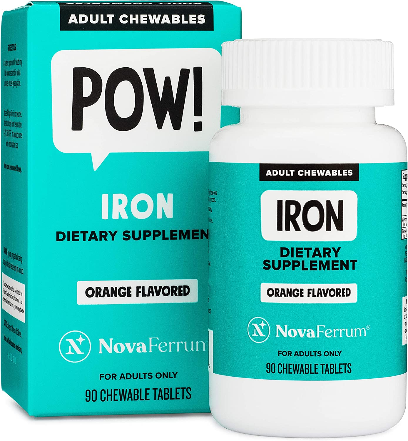 Max 71% OFF Ranking TOP5 NovaFerrum Chewable Iron Supplement for mg Adults 36 Elemental