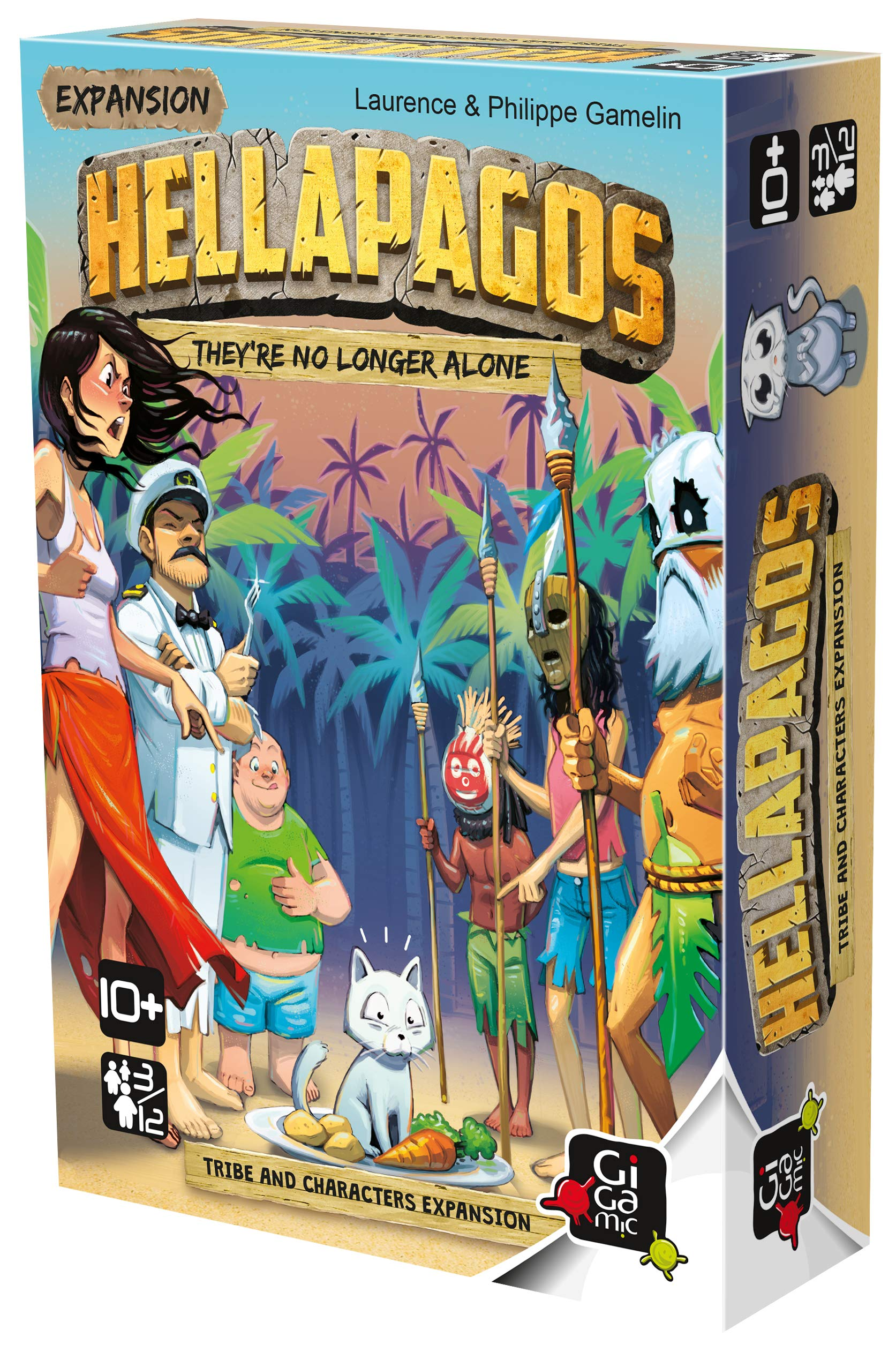 GIGAMIC Expansion Hellapagos: Tribe & Characters