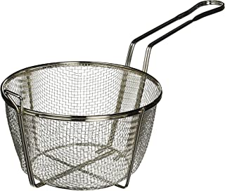 Winco FBRS-8 Round Wire Fry Basket, 8-1/2-Inch, 6-Mesh